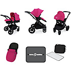 more details on Ickle Bubba Stomp V3 Pink on Black Travel System.