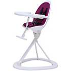 more details on Ickle Bubba Orb Purple on White Highchair.