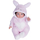 more details on Chad Valley Tiny Treasures Bunny Cosy Outfit.