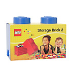 more details on LEGO® Storage Brick 2 - Blue.