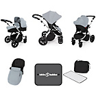 more details on Ickle Bubba Stomp V3 Silver Travel System.