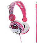 more details on Hello Kitty On Ear Headphones - Pink Leopard.