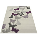 more details on Butterflies Rug - 60x110cm - Natural.