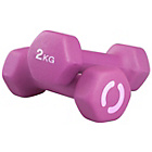 more details on Opti Neoprene Dumbbells - 2 x 2kg.