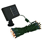 more details on Gardenkraft 100 Amber LED Solar String Lights.