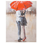 more details on Collection Romantic Couple Under Red Umbrella Canvas.