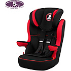 more details on Obaby B is for Bear 1-2-3 High Back Booster Car Seat - Red.