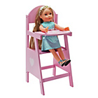 more details on Chad Valley Classic Wooden Dolls Highchair.