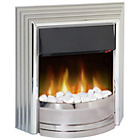 more details on Dimplex Castillo Electric Inset Fire - Chrome / Silver.