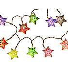 more details on 20 Battery Opperated Silver Stars String Lights.
