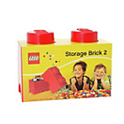 more details on LEGO® Storage Brick 2 - Red.