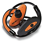 more details on Boompods Bluetooth Headphones - Orange