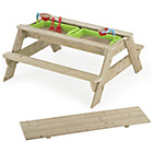 more details on TP Toys Deluxe Picnic Table Sandpit FSC with Play Table.