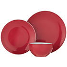 more details on ColourMatch Two Tone 12 Piece Dinner Set - Poppy Red.