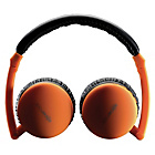 Boompods Bluetooth Travel Headphones - Orange