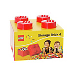 more details on LEGO® Storage Brick 4 - Red.