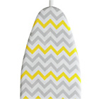 more details on JML 139 x 49cm Yellow Chevron Ironing Board Cover.