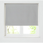 more details on HOME Blackout Roller Blind - 5ft - Soft Grey.