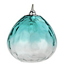 more details on Heart of House Rockford Glass Lampshade - Teal.