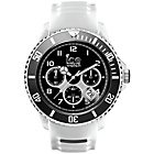 more details on Ice Men's Silicone White Strap Chronograph Watch.