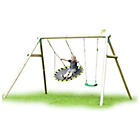 more details on TP Toys Round Wood Swing Frame Set.