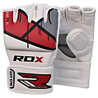 more details on RDX Leather X Grappling Gloves Red - Large/Extra Large