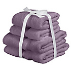 more details on Heart of House Egyptian Cotton 4 Piece Towel Bale - Heather.