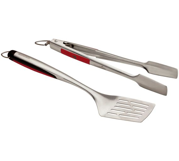 buy char broil 2 piece bbq tool set at your. Black Bedroom Furniture Sets. Home Design Ideas