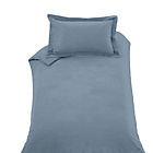 more details on Heart of House Soft Grey Non Iron Percale Bedding Set-Single