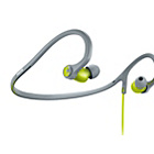 more details on Philips In Ear Sports Headphones with Neckband - Green.