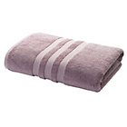 more details on Heart of House Egyptian Cotton Bath Sheet - Heather.