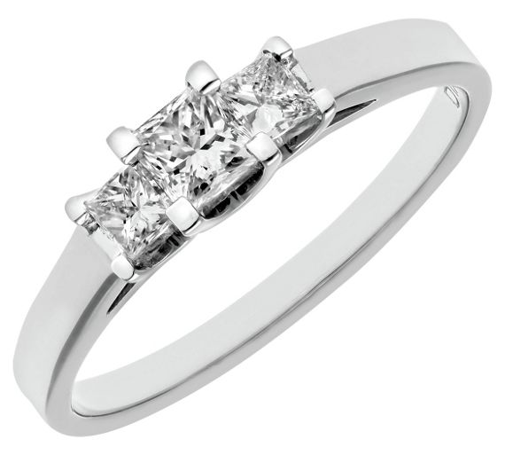 Princess Cut Diamond Ring Argos