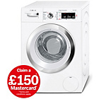 more details on Bosch WAWH8660GB 9KG 1400 Spin Washing Machine - White.