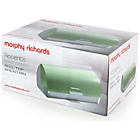 more details on Morphy Richards Accents Roll Top Bread Bin - Sage.
