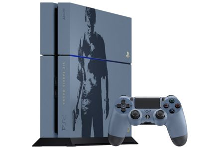 Limited Edition Uncharted PS4 1TB console.