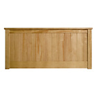 more details on Grafton Kingsize Headboard - Oak.