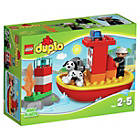 more details on LEGO DUPLO Fire Boat - 10591.