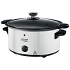 more details on Russell Hobbs 23160 4.5L Sear and Stew Slow Cooker - White