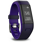 more details on Garmin Vivosmart HR+ GPS Activity Tracker, Purple - Regular.