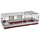 more details on Ferplast Krolik 160  Rabbit Hutch - Red.