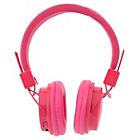 more details on Vivitar Neon Bluetooth Headphones - Pink.