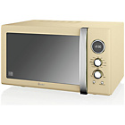 more details on Swan SM22080CN Combination Microwave - Cream.