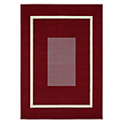 more details on HOME Maestro Square Border Rug - Red.