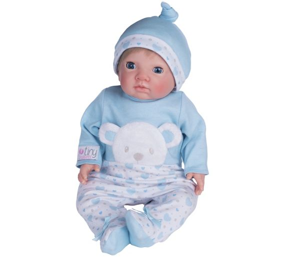 Baby Boy Gifts Argos : Buy chad valley tiny treasures newborn doll with blue