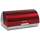 more details on Morphy Richards Roll Top Bread Bin - Red.