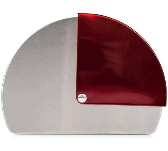 buy morphy richards roll top bread bin red at. Black Bedroom Furniture Sets. Home Design Ideas