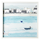 more details on Collection Seaside Town Framed Print.