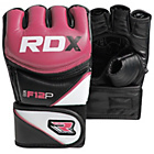 more details on RDX Synthentic Leather MMA Gloves Pink - Medium/Large