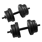 more details on EverLast Vinyl Dumbbell Set - 20kg.