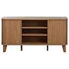 more details on Hygena Jabara 2 Door Low Sideboard/TV Unit - Oak Effect.